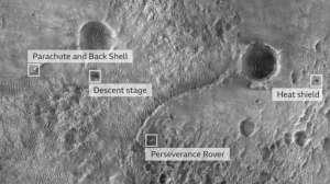 Perseverance: las mejores imágenes tomadas por el robot en sus primeras semanas en Marte