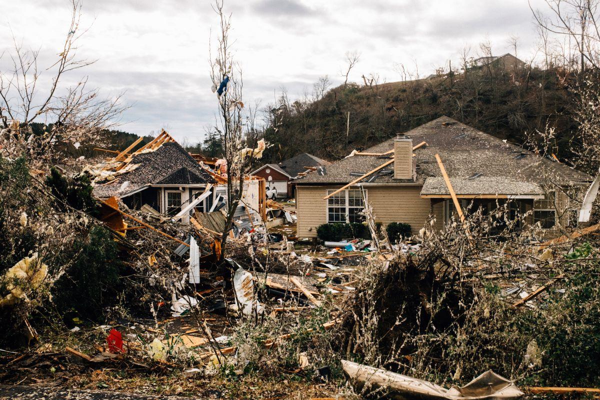 Los tornados causaron graves daños en áreas de Alabama.