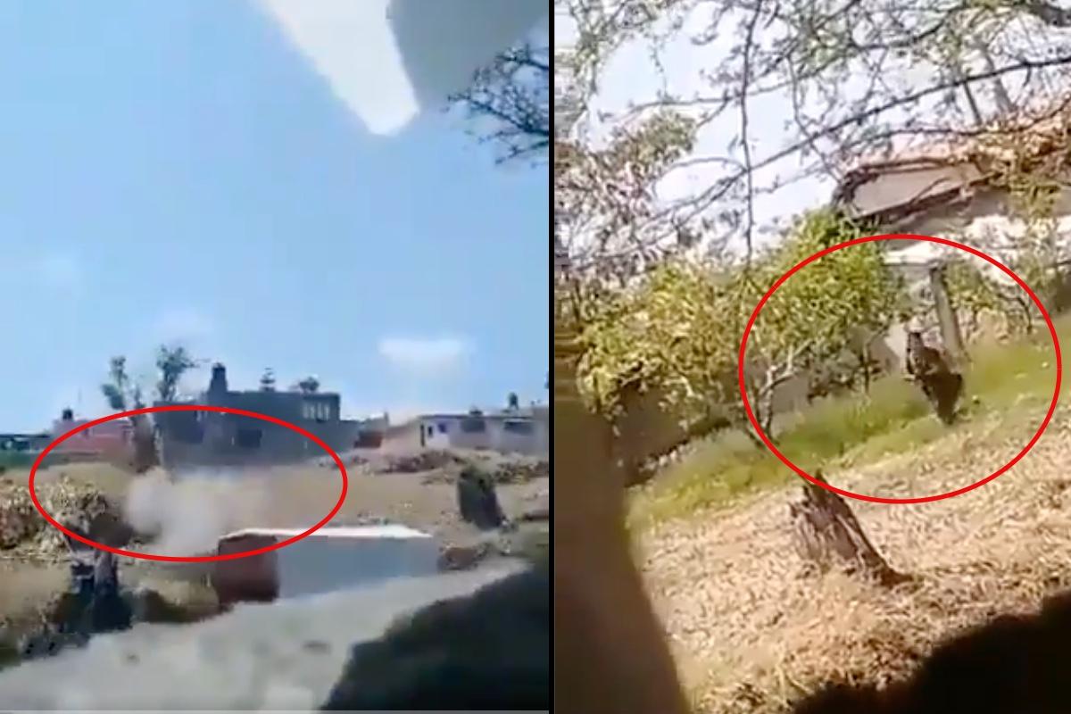 Video de ataque a policías en el Estado de México.
