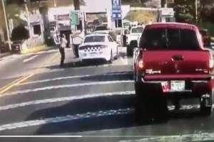 VIDEO: Autoridades se enfrentan a balazos a delincuentes y así terminaron los criminales