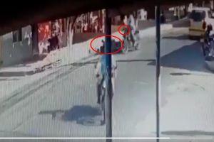 VIDEO: Momento exacto en que sicarios disparan a expolicía y lo rematan