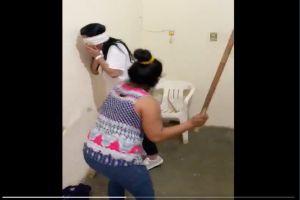 VIDEO: Narcos golpean brutalmente a mujer por tener una relación sentimental con político mexicano