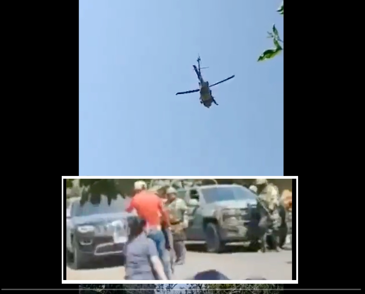 VIDEO: Sicarios del Cártel de Los Viagras disparan contra helicóptero del ejército mexicano por detención de su líder