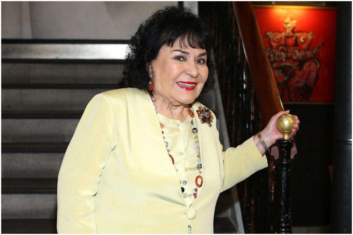Carmen Salinas está muy arraigada con la casa de casi toda su vida.