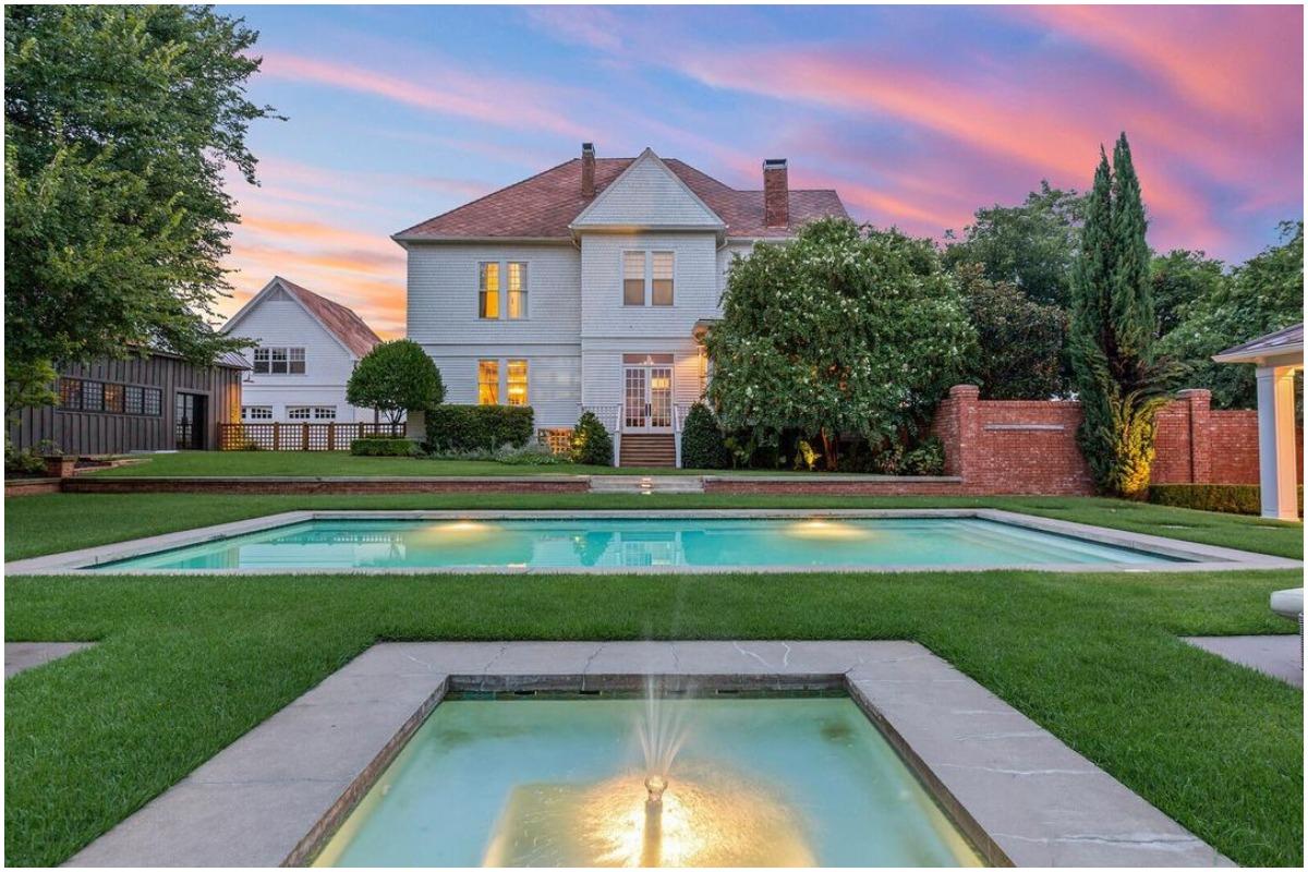 La mansión del fundador de Dr. Pepper está disponible en Airbnb.