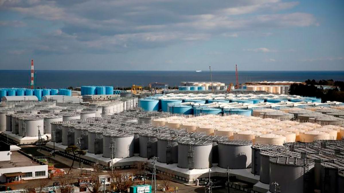 El espacio para contener agua contaminada se acabará en 2022, lo que obliga a Japón a liberar el agua ya tratada al mar.