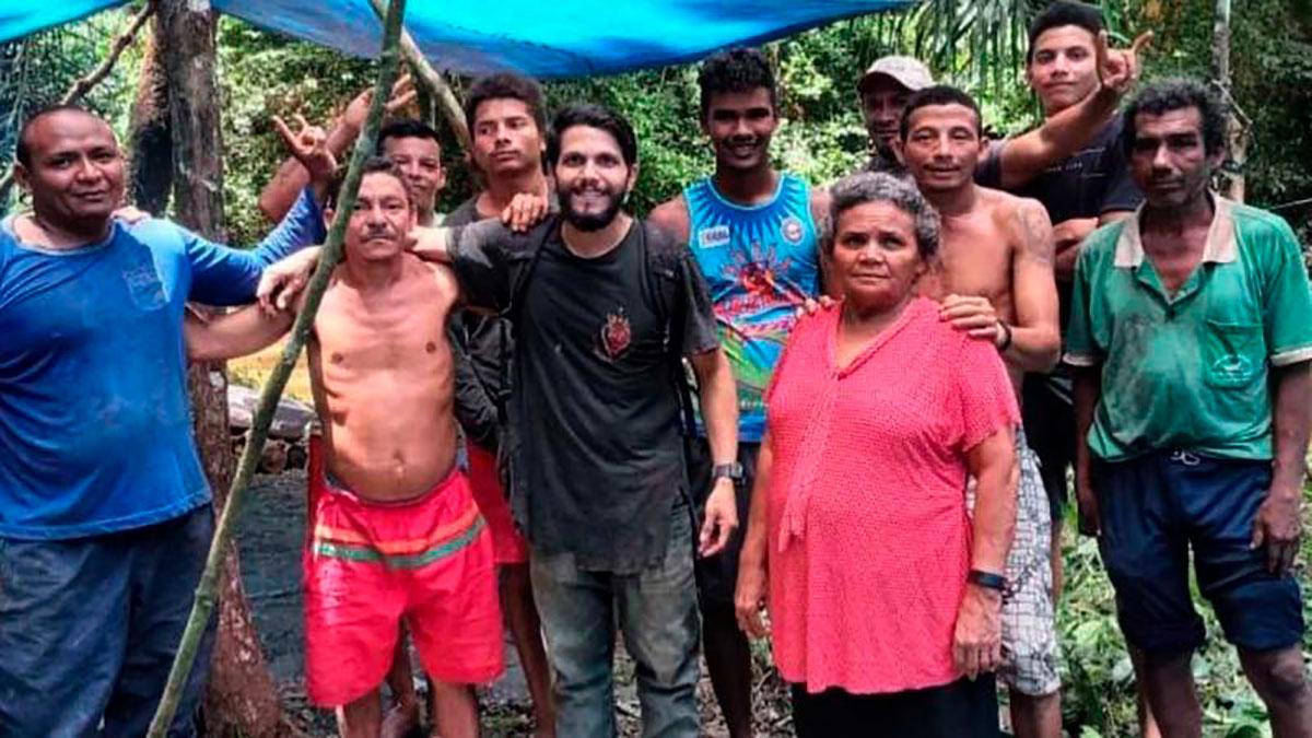 El piloto que cayó en el Amazonas y sobrevivió 36 días solo, rodeado de serpientes y cocodrilos