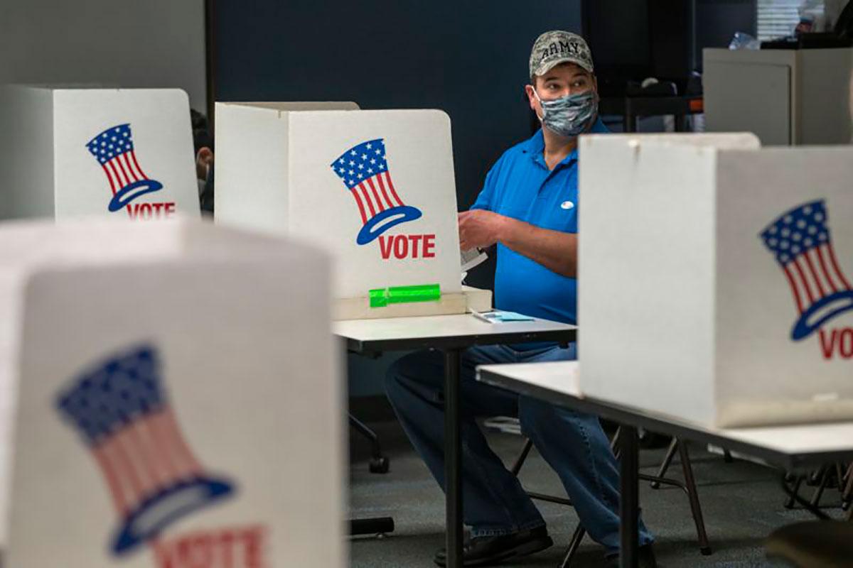 Una nueva lucha sobre el derecho de votación asoma en Estados Unidos. (Getty Images)