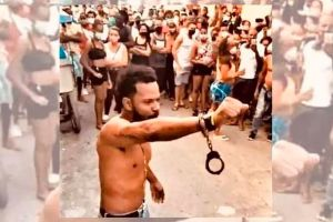 """""""Lo que está pasando en Cuba ahora es la muestra de que este pueblo se cansó, que ya no aguanta más"""": Maykel Osorbo"""
