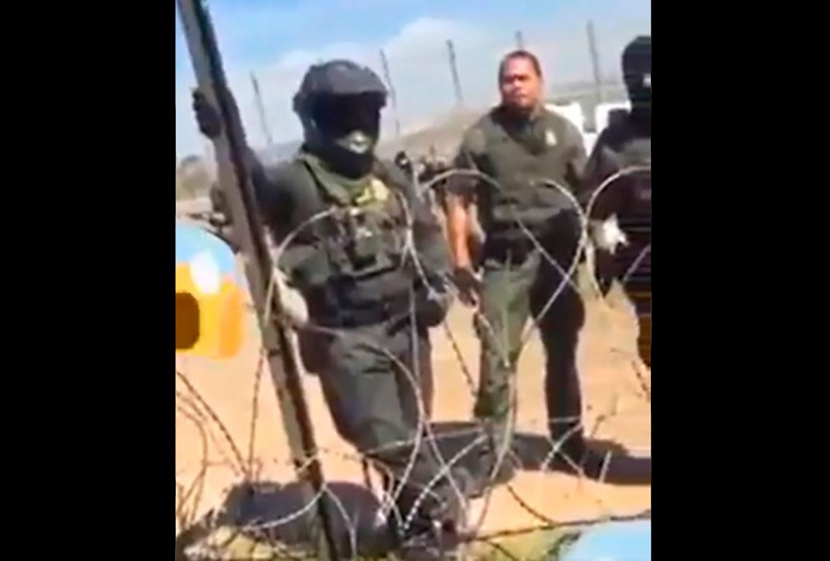 Conmueve en redes sociales video del diálogo entre agente fronterizo y joven mexicano