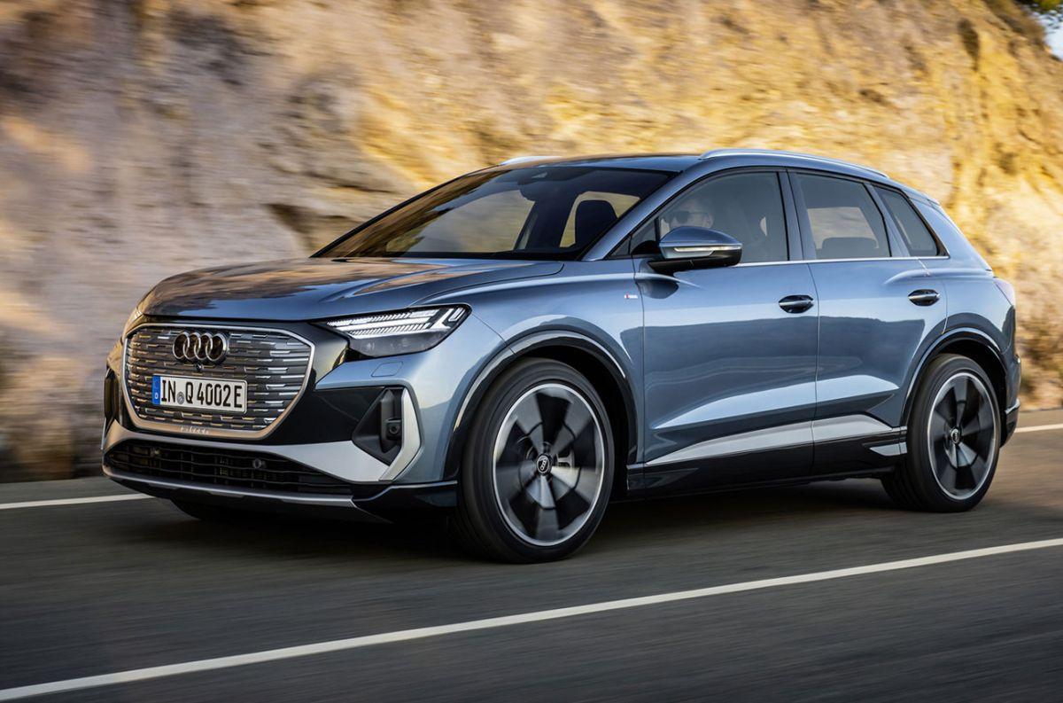 El tercer modelo cero emisiones de Audi sale a rodar