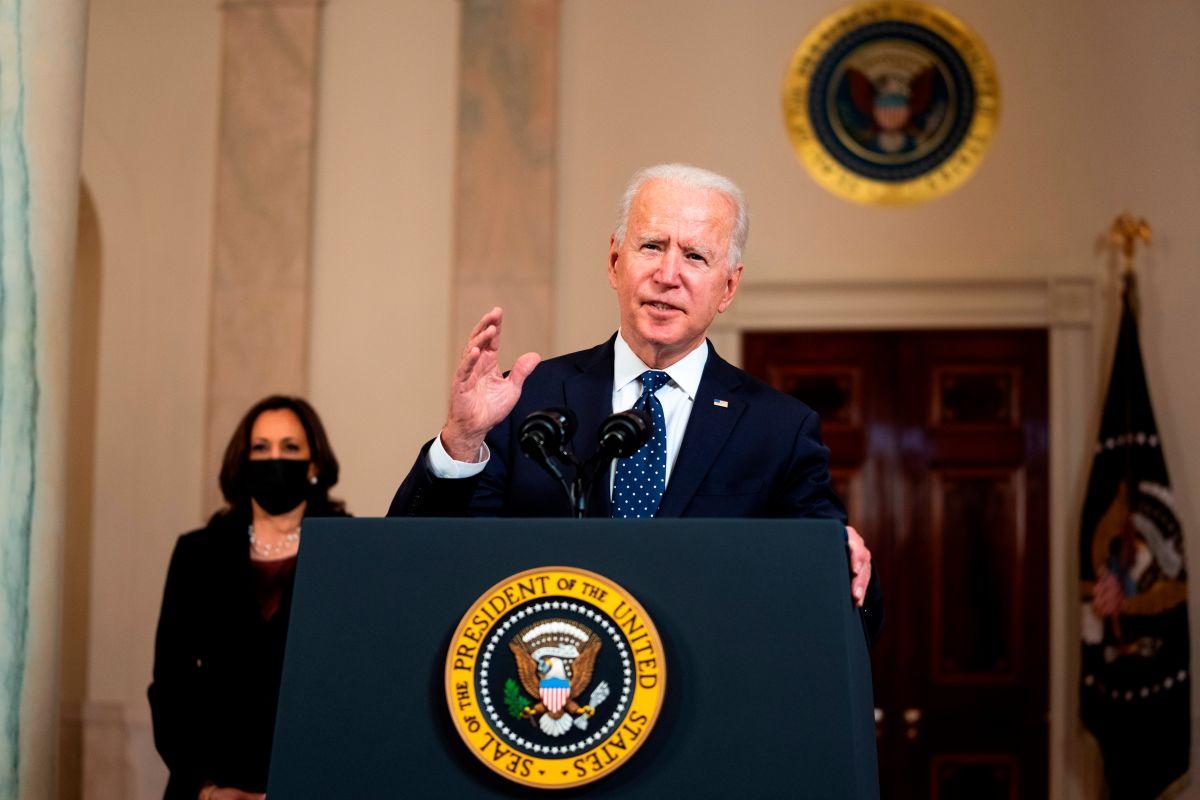 Biden calificó la condena de Chauvin como un paso adelante en la marcha hacia la justicia