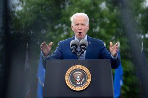 Biden visitó Georgia para impulsar sus amplias propuestas económicas