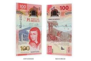 Billete mexicano de 100 pesos es reconocido como uno de los mejores del mundo