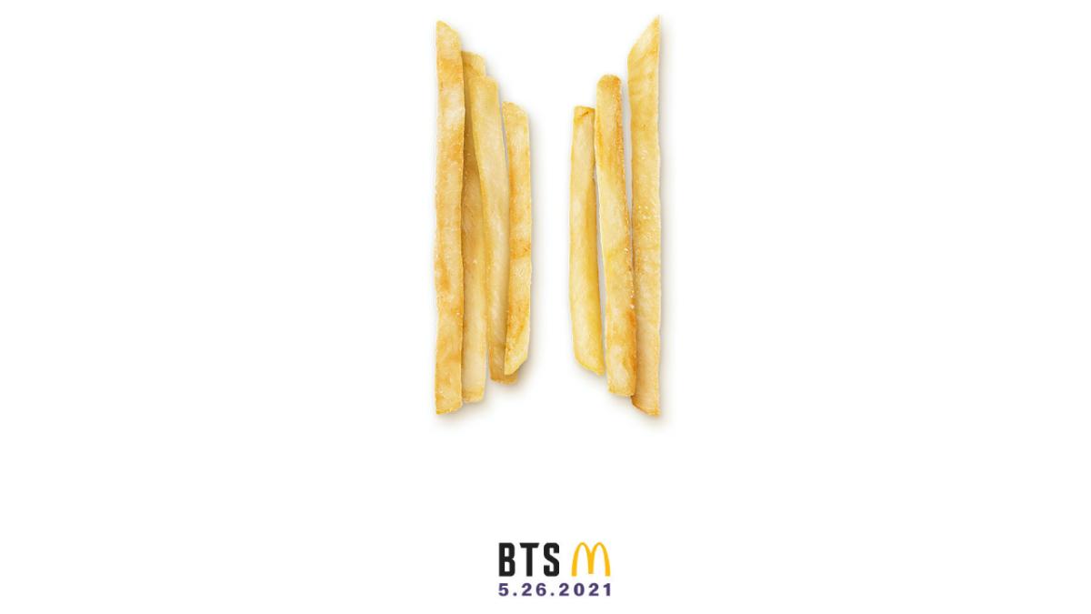 Colaboración entre McDonald's y BTS