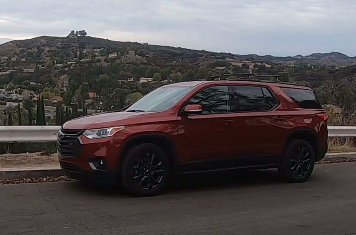 Test: Chevrolet Traverse RS AWD 2021