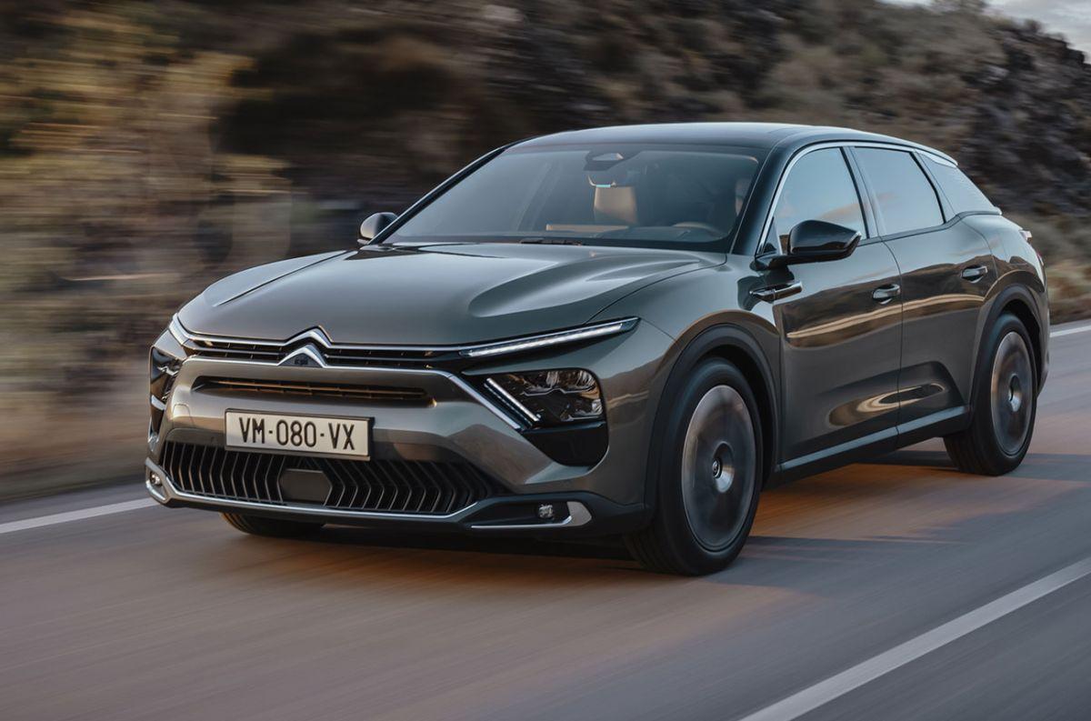 Citroën le da la bienvenida al C5 X