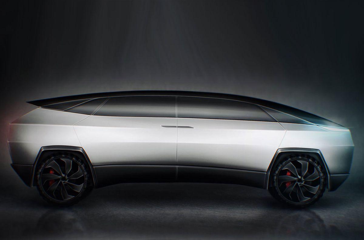 ¿Tesla piensa en una van derivada del Cybertruck?
