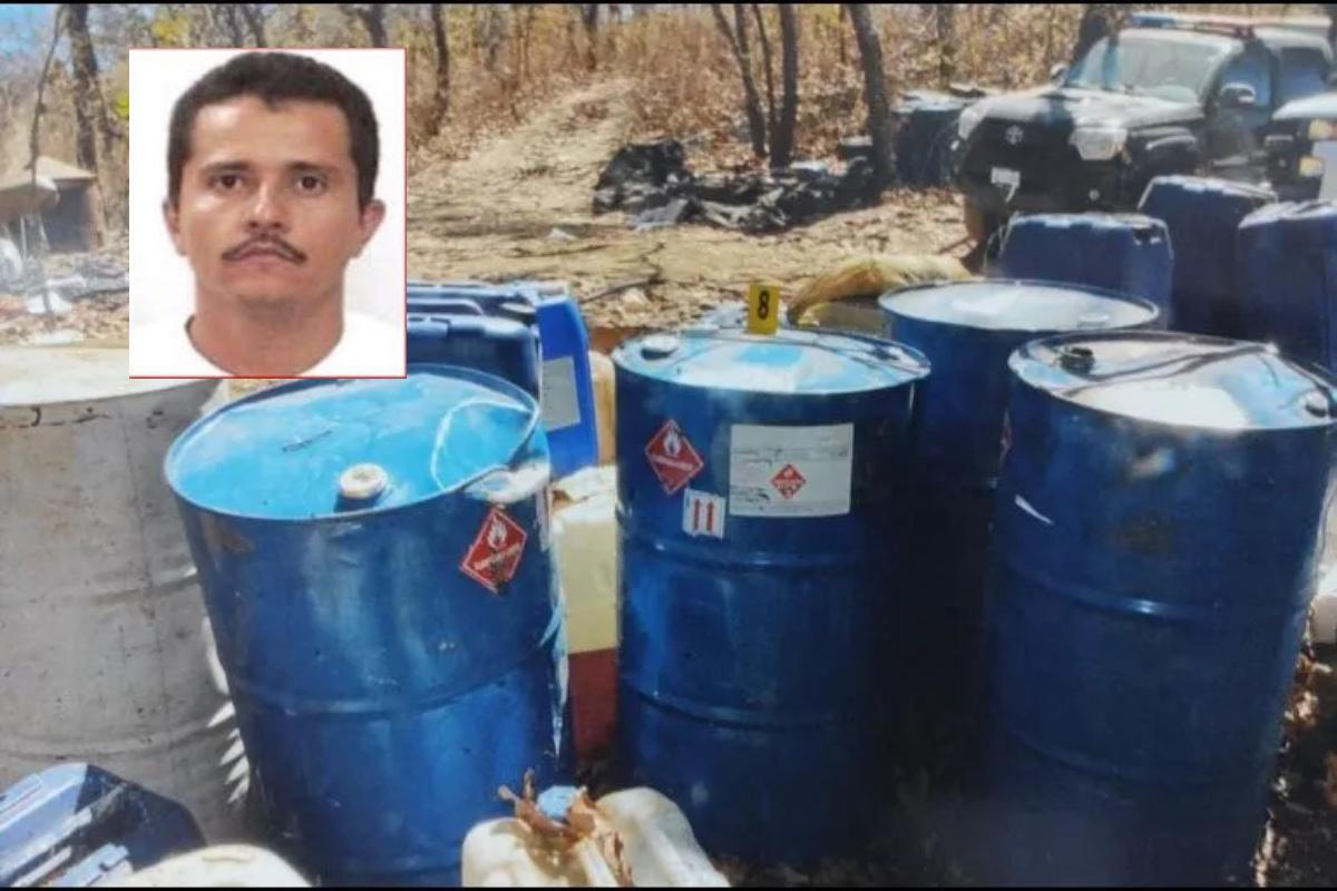 FOTOS: Desmantelan narcolaboratorio en territorio del Mencho y el CJNG