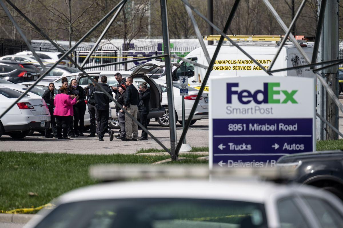 La policía de Indianapolis identificó a las 8 víctimas mortales del tiroteo en FedEx
