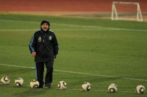 Maradona es inmortalizado en Avellaneda