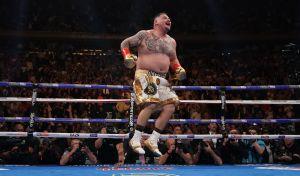 """Andy Ruiz lo afirma en su camiseta: """"Ya no quiero estar gordo"""""""