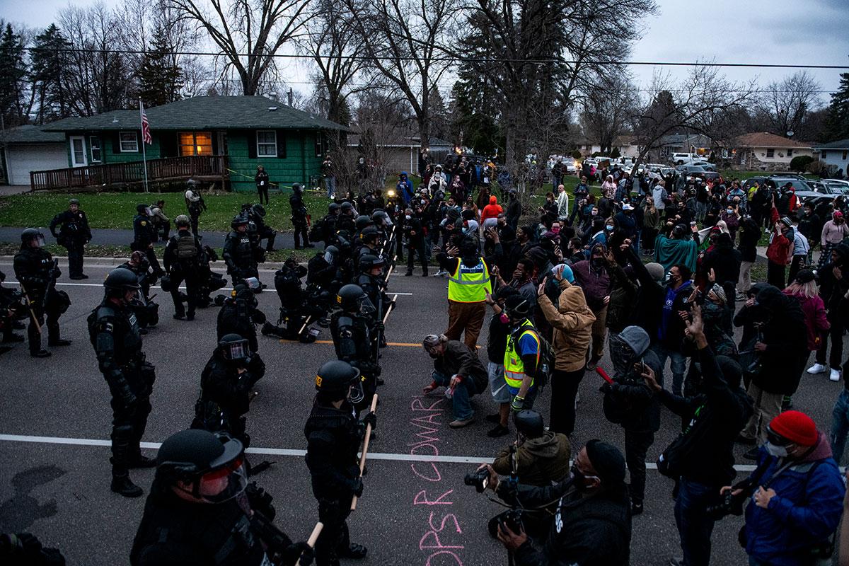 Protestas por muerte de Daunte Wright
