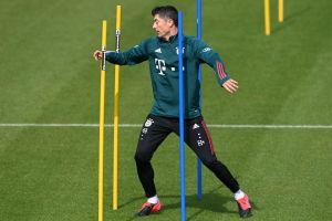 Lewandowski podría jugar el sábado por la Bundesliga