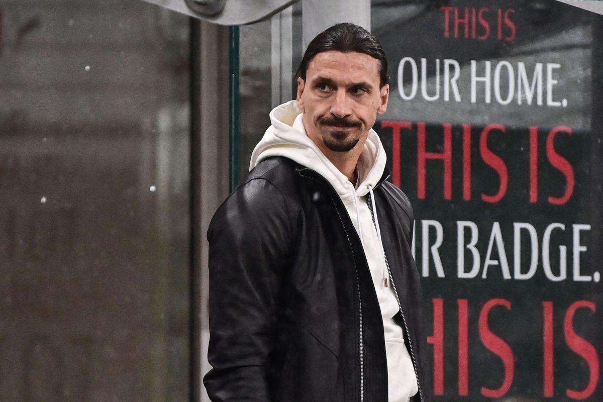 Zlatan Ibrahimovic no ha participado en los últimos partidos del Milan por una lesión muscular.
