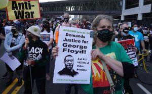 Estados Unidos bajo tensión por la espera del veredicto sobre el caso de George Floyd