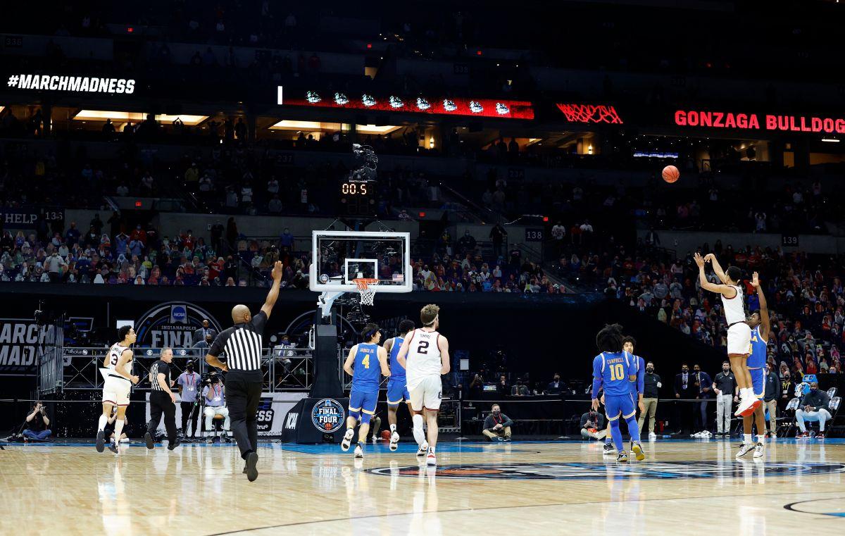 La canasta del siglo: Gonzaga avanza a la final de la NCAA gracias a un tiro desde media cancha