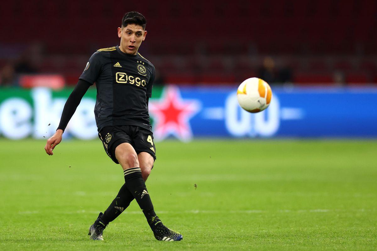 Álvarez arribó al Ajax proveniente del América en 2019.