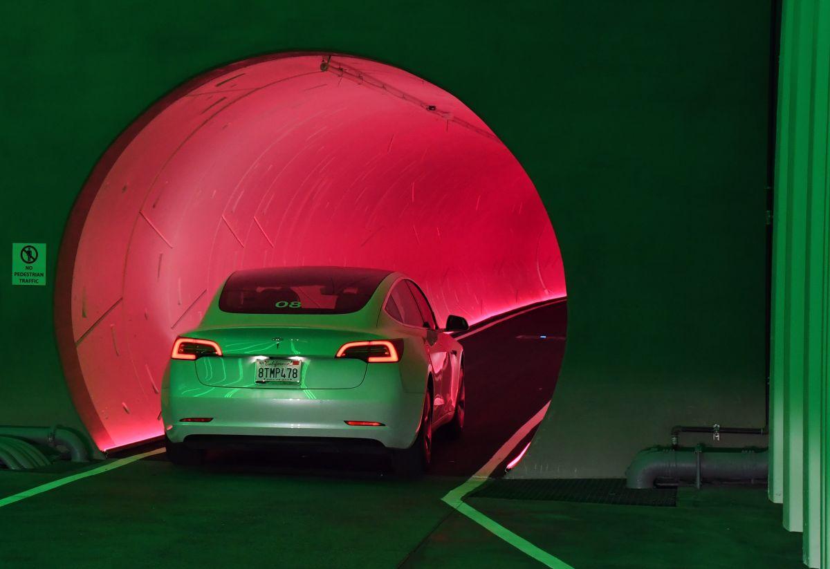 Presentan en Las Vegas el nuevo túnel del millonario Elon Musk y ya hablan de expandirlo por debajo de la ciudad