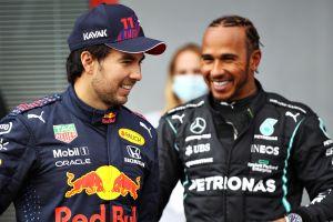 ¡Checo Pérez estuvo muy cerca de quitarle la Pole a Lewis Hamilton!