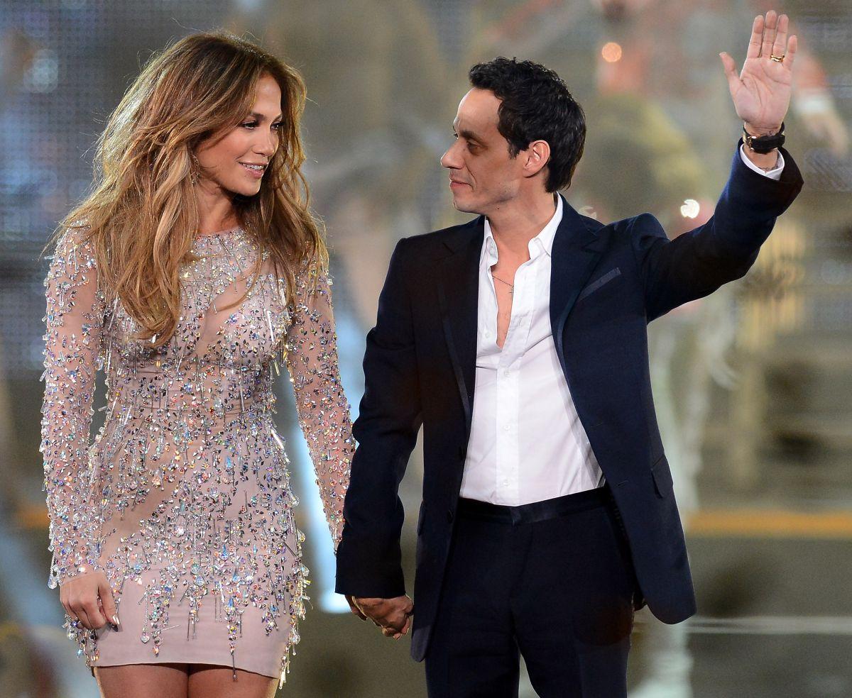 Así fue la historia de amor de Jennifer Lopez y Marc Anthony