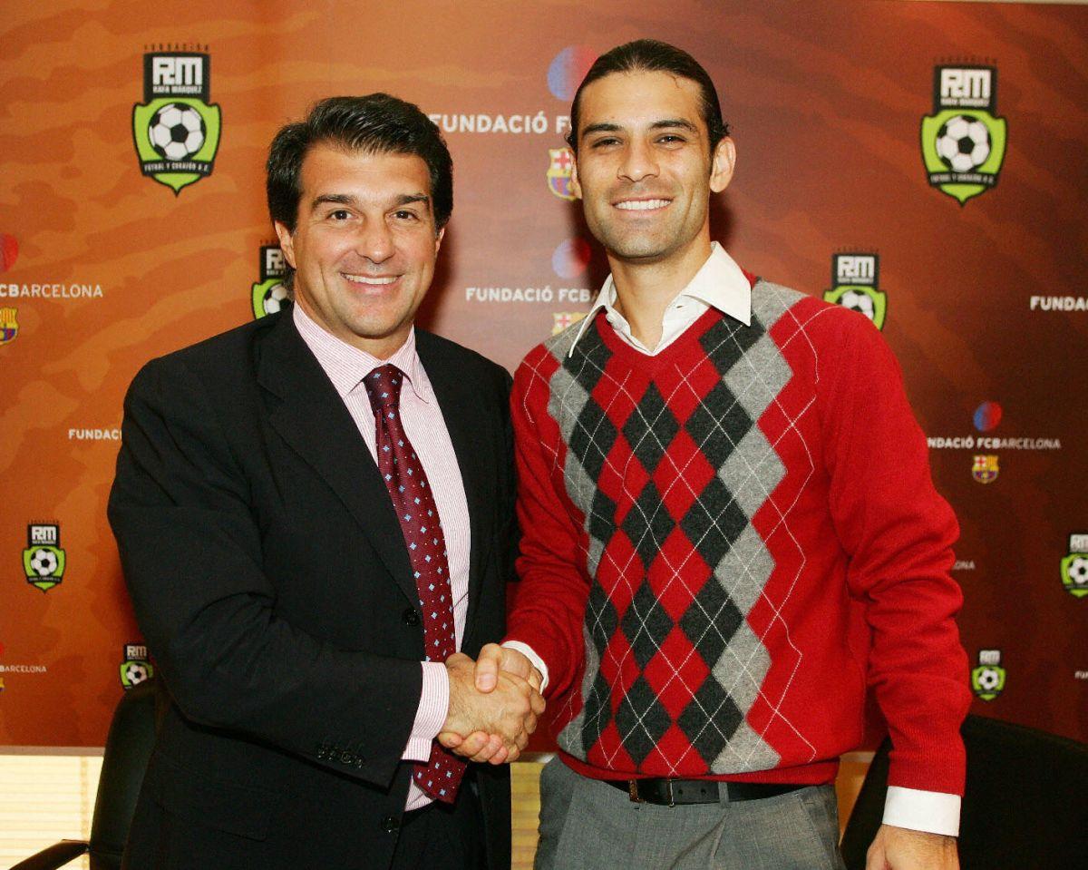 Es casi un hecho: Rafa Márquez está muy cerca de volver al FC Barcelona