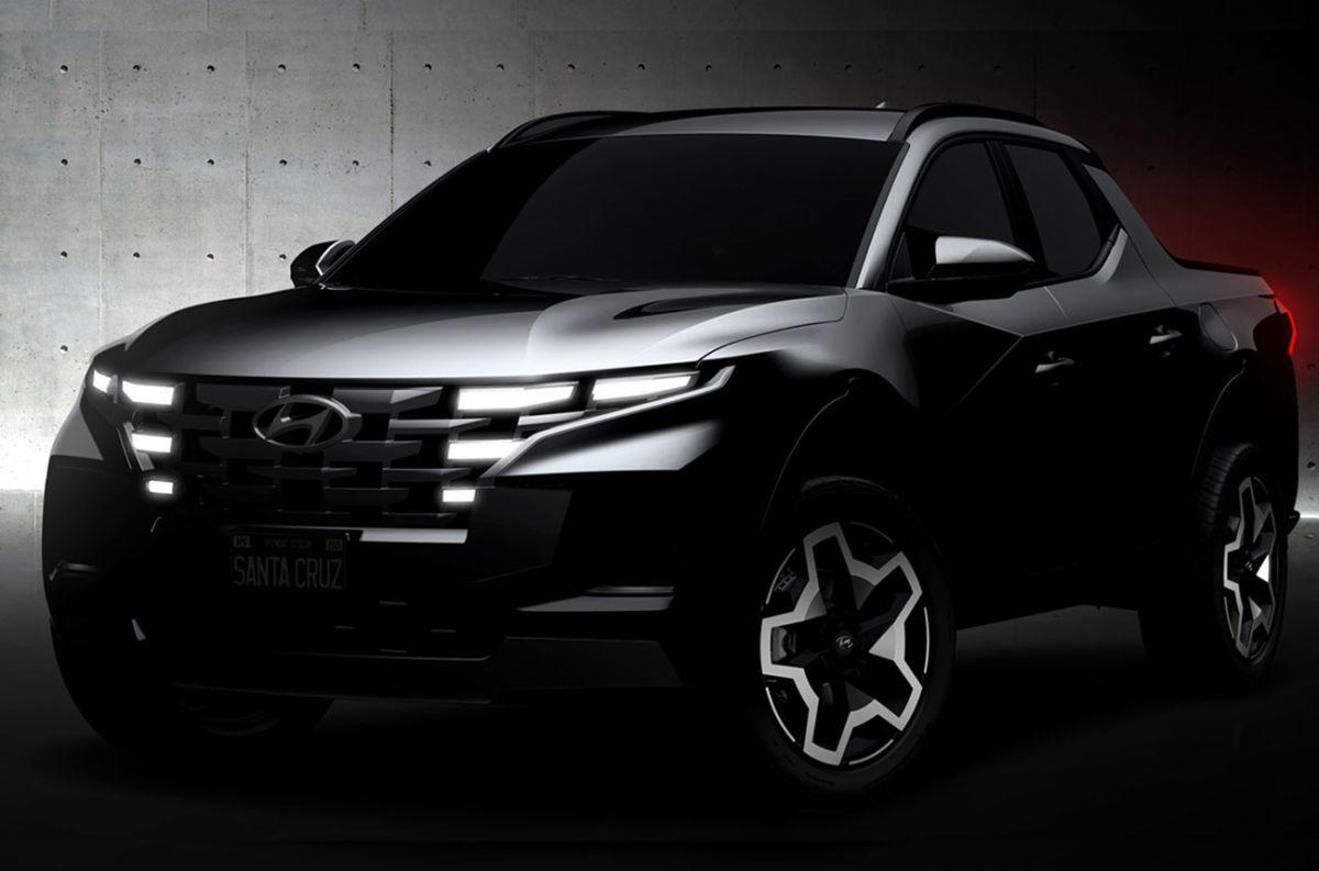 Santa Cruz: la pick-up de Hyundai asoma en el horizonte