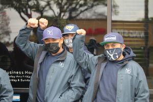 Después del veredicto de George Floyd, nace grupo pacifista en Los Ángeles