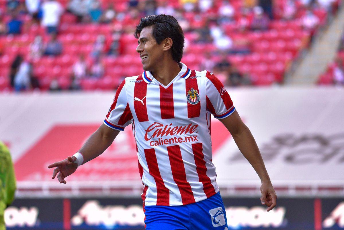 El delantero mexicano lleva seis goles en la actual Liga MX.