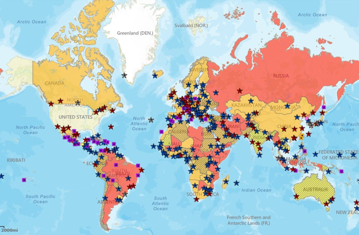 Estados Unidos impondrá Nivel 4 de viaje a 80% de los países ante aumento de casos de COVID-19