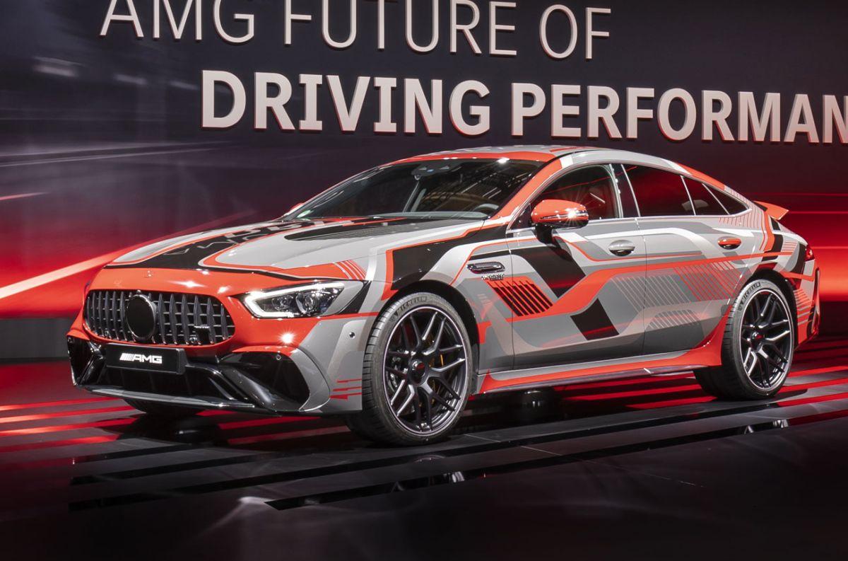 Los deportivos de Mercedes-Benz rumbo a la electrificación