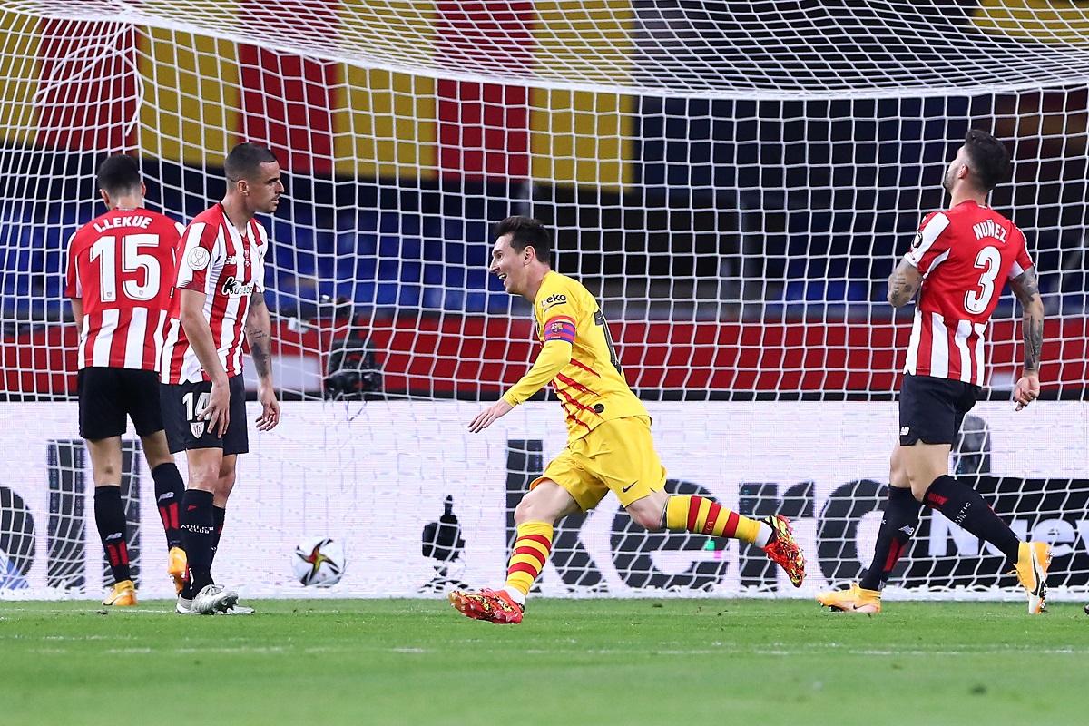 El rey del juego: Lionel Messi llegó a 31 goles en finales con el FC Barcelona