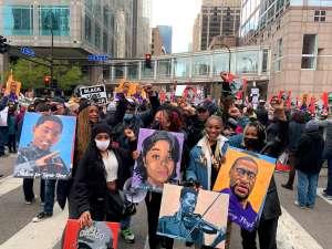 Minneapolis festejó que se hiciera justicia a George Floyd