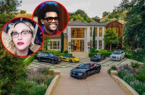 Así es la espectacular mansión de Hidden Hills que The Weeknd le malvendió a Madonna