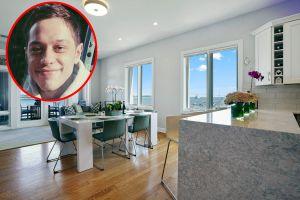 Pete Davidson, ex de Ariana Grande, presume nueva casa tras dejar de vivir con su mamá