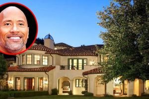 Conoce la increíble nueva mansión de Dwayne 'The Rock' Johnson… ¡con diamante de béisbol!