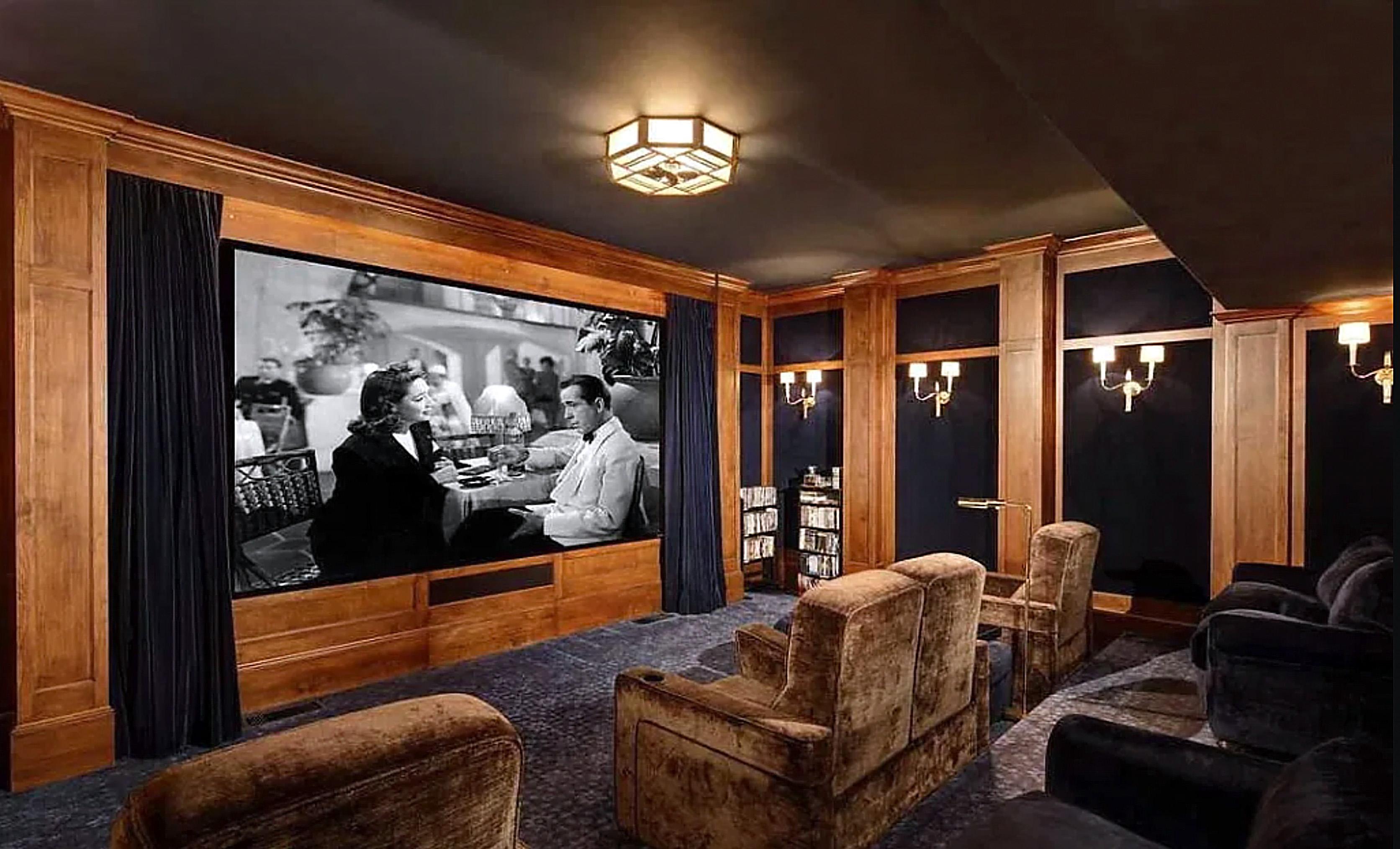 The Rock'sala de cine