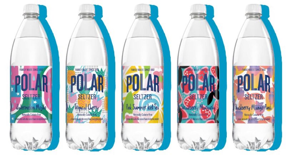 Nuevos sabores de Polar Seltzer para el verano