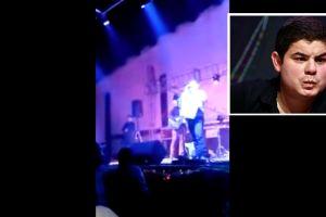 VIDEO: Así fue el primer ataque en contra de Alfredito Olivas en pleno concierto
