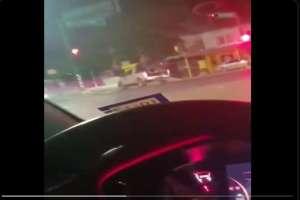 VIDEO: Cártel del Noreste captado patrullando calles cerca de la frontera